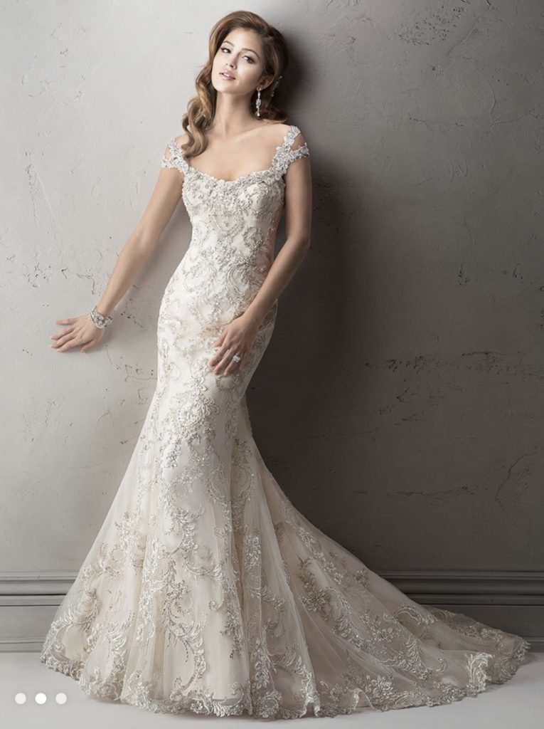 Maggie Sottero. Size 8. Savvy Price $1999